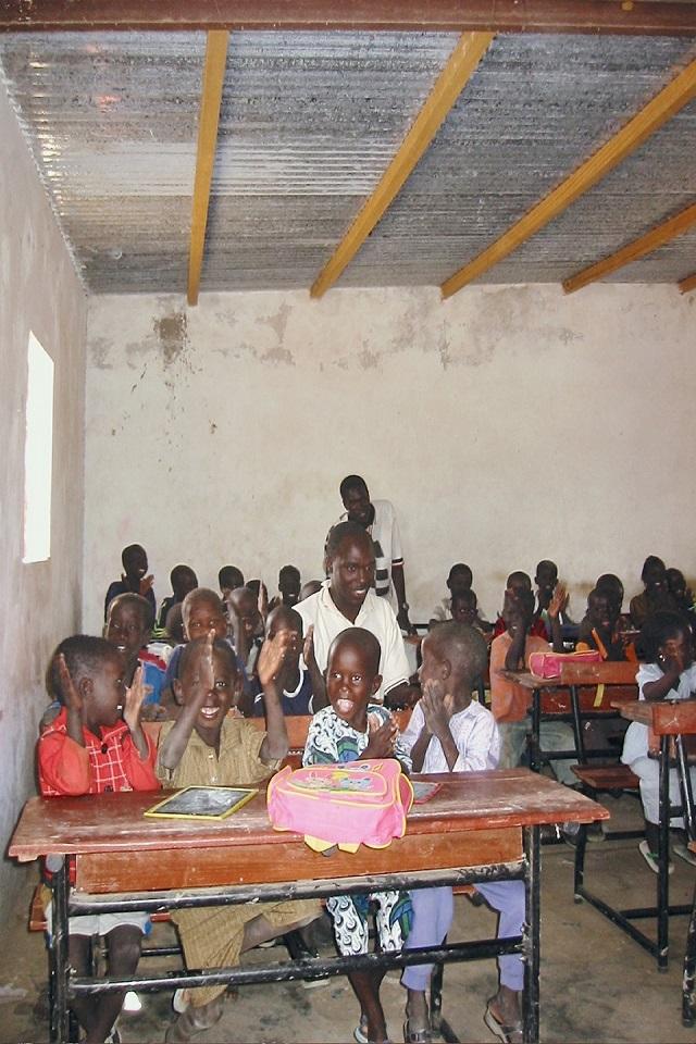 Ecole dans la vallée du fleuve Sénégal