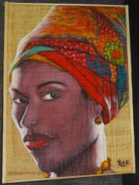 'Femme Africaine' (Boe Fall) 1er Prix