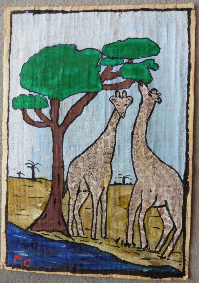 'Girafes' (Diakhaté Mor)
