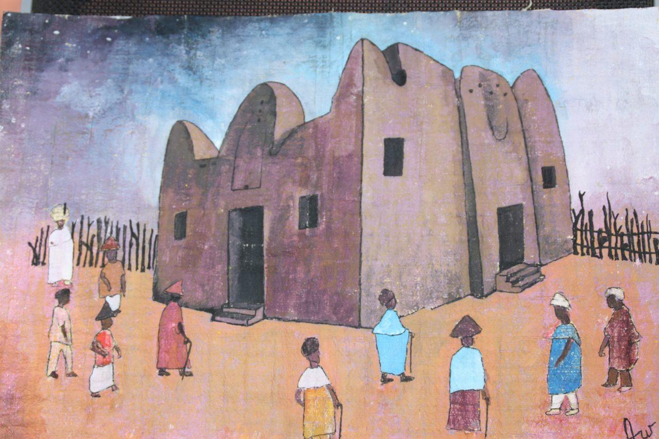 Mosquée de Guédé  Ousmane Aw  2018