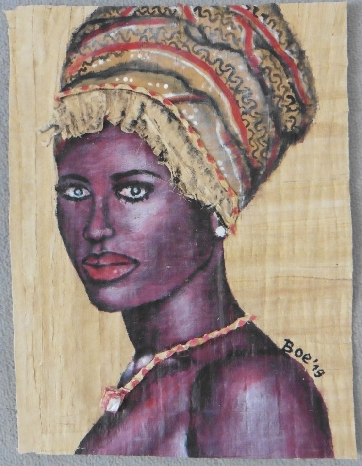 Femme au turban Boe 2019