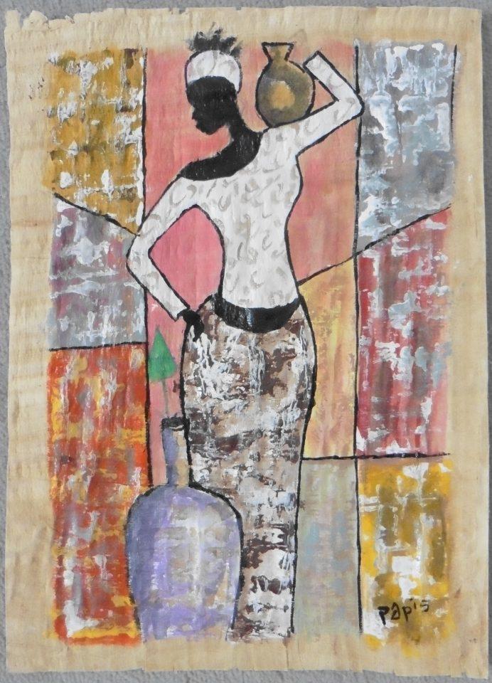 Femme à la jarre – Papis 2019